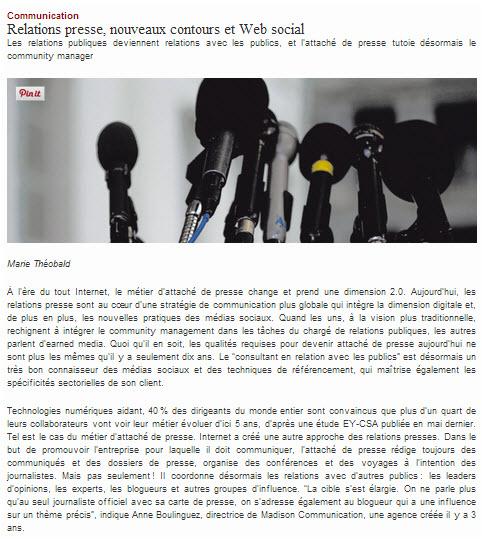 OXYGEN livre son analyse de la mutation du métier des Relations Presse