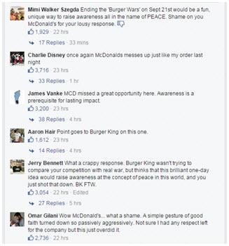 reactions des internautes